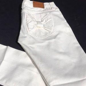 Frankie b. Skinny White Jeans- Size 27